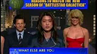 Late Show - Top Ten Reasons to watch Battlestar Galactica