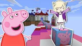 PEPPA PIG EN MINECRAFT | LUCKY BLOCKS
