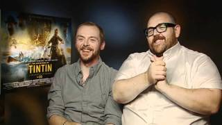 Simon Pegg and Nick Frost play The Game