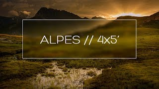 Alpes // 4x5