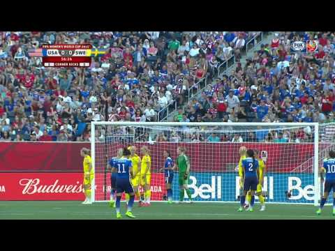 USWNT Sweden 2015 Women's World Cup Full Game USA FOX SPORTS