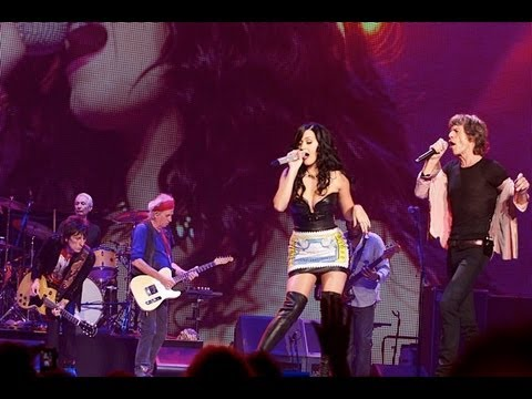The Rolling Stones - Beast Of Burden with Katy Perry at Las Vegas  11/05/2013