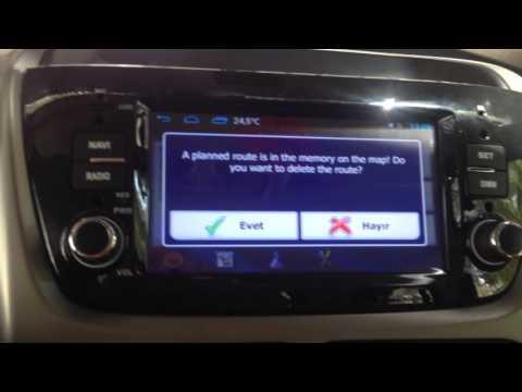 Fiat Doblo Android Multimedia Cihazı