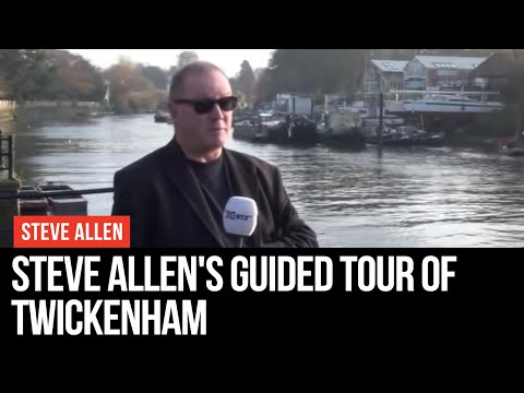 Steve Allen shows you around Twickenham