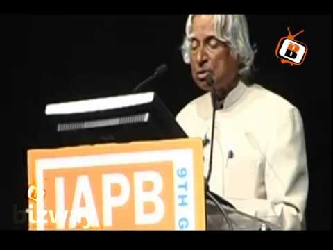 Dr Apj Abdul Kalam Speech In Iapb 9th General Assembly At Hyderabad (bizway) video