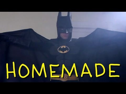 "Tim Burton s ""I m Batman"" - Homemade Batman 1989 w/ TJ Smith, Jimmy Tatro & Mikey Bolts"