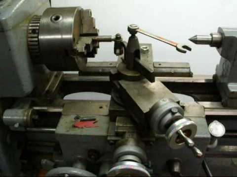 THREADING on the CLAUSING LATHE south bend part 1 tubalcain