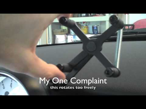 cravenspeed smart phone mount demonstration for mini cooper youtube. Black Bedroom Furniture Sets. Home Design Ideas