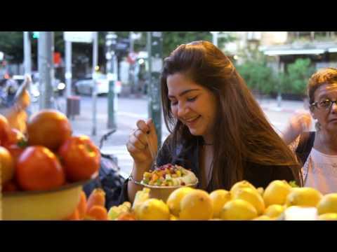 Израильская уличная еда - качественно и вкусно!