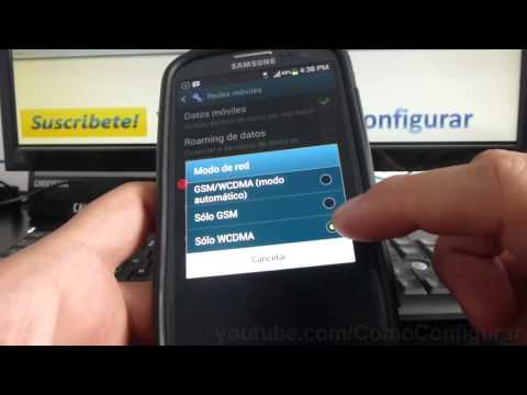 Como Activar Y Desactivar 3g samsung Galaxy s3 i9300 español Full HD