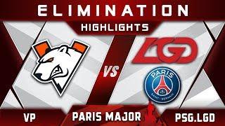 VP vs PSG.LGD [EPIC] TOP 6 MDL Disneyland Paris Major 2019 Highlights Dota 2