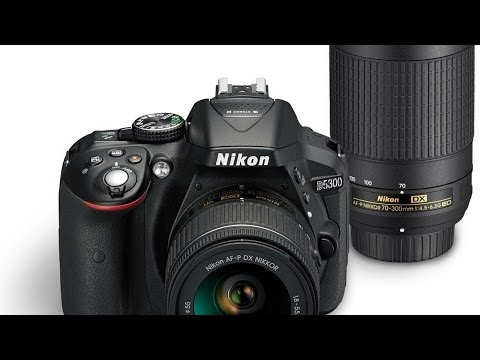 Nikon D5300 24 2 MP DSLR Camera With 18 55mm Lens Review
