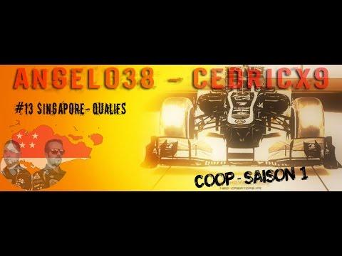 F1 2013 - Saison Coop - 13 - Singapour - Qualifs