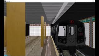 OpenBVE Railfanning: 14th Street-6th Avenue  (1)(2)(3)(L)(F)(M)