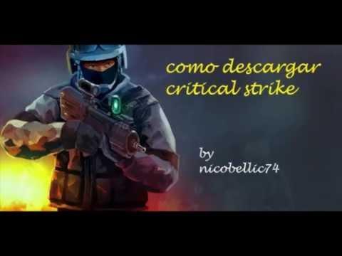 Como descargar Critical Strike para pc(loquendo).