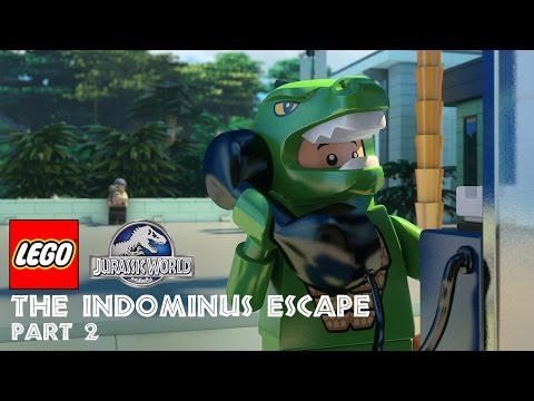 Part 2: LEGO® Jurassic World: The Indominus Escape