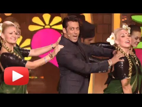 Salman Khan Dances To Rajesh Khanna's Tune - Mere Sapno Ki Raani Kab Aaegi Tu video