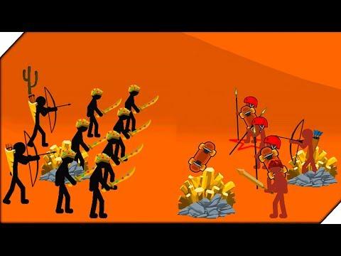 ТУРНИР СТИКМЕНОВ - Игра Stick War Legacy Tournament Mode. Андроид игры