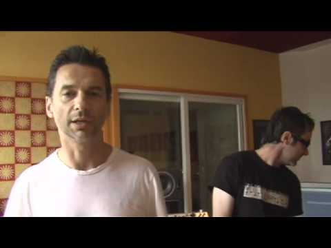 Dave Gahan - Hourglass Sessions - Web Site Greeting