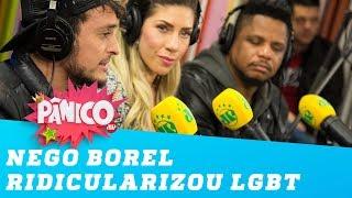 """""""Nego do Borel ridicularizou público LGBT"""", diz Fefito"""
