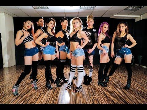 "Beyonce ""7/11"" choreo by FRAULES feat. Kick ass ball team in Taiwan"
