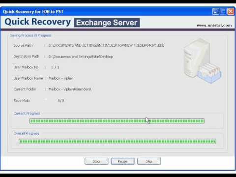 Data Recovery for Exchange Server