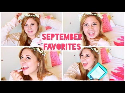 EASY MONEY, FLOWER CROWNS, & LIP PLUMPING, OH MY!   September Favorites