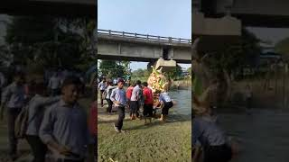 vishwakarma puja  visarjan 2018