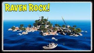 GTA 5 Zombie Apocalypse Ep. 1 - RAVEN ROCK! (New Island Mod Showcase/Skit)