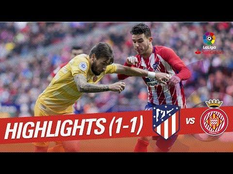 Resumen de Atlético de Madrid vs Girona FC (1-1)