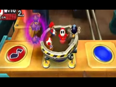 Mario Party 9 Solo Part 3 (Bomb-omb Factory)