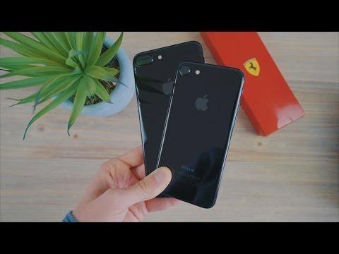 J'ai testé les iPhone 7 et 7 Plus JET BLACK !