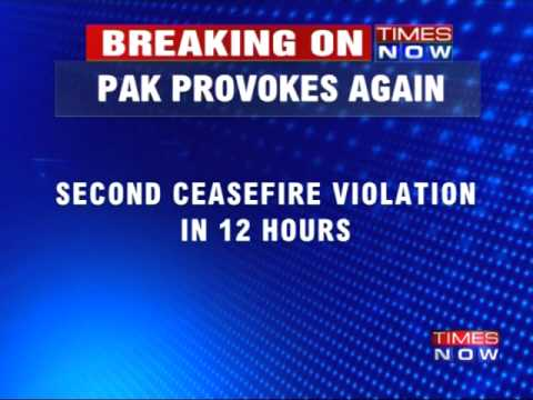 Top Story | Pakistan violates ceasefire, again | Uprovoked Firing Across LOC