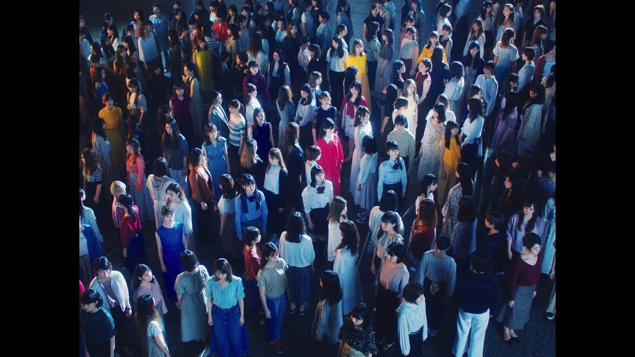 """乃木坂46 - 4期生 遠藤さくらがセンター""""夜明けまで強がらなくてもいい""""のMVを公開 24thシングル 2019年9月4日発売予定 thm Music info Clip"""