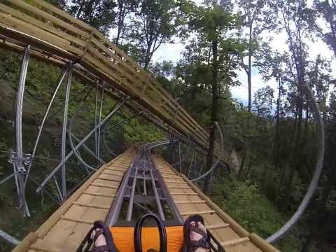 Smoky Mountain Alpine Coaster, Pigeon Forge, TN POV CAM