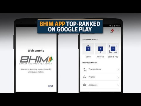 What is BHIM app and how does it work?