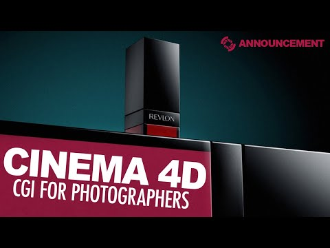 Introduction to CGI for Photographers with Cinema 4D (new course release)