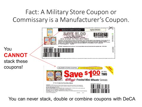 Coupons navy commissary