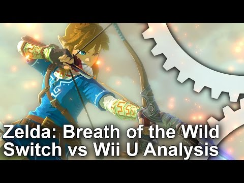 Zelda: Breath of the Wild - Switch vs Wii U Comparison + Frame Rate Test