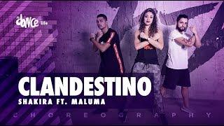 Clandestino - Shakira ft. Maluma   FitDance Life (Coreografía) Dance Video