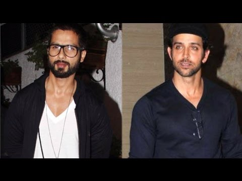 Hrithik Roshan Gives Biggest Bang Bang Dare For Shahid Kapoor