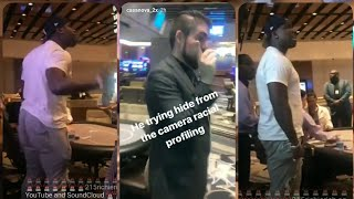 Casanova 2X snaps and tries to fight racist MGM staff for kicking him out for nothing