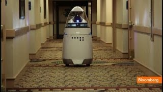 technology,  Crime-Fighting Robotic Guard could replace cops  for $6.25 an Hour  12/9/13