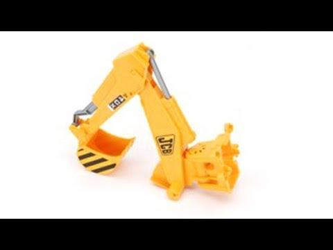 Bruder Toys Spare Part Service: JCB Backhoe Arm for JCB Backhoe Loader #42445