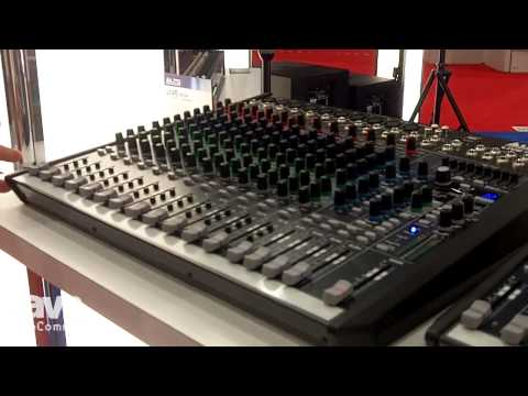 InfoComm 2014: Alto Professional Exhibits its LIVE Series of Compact Mixers