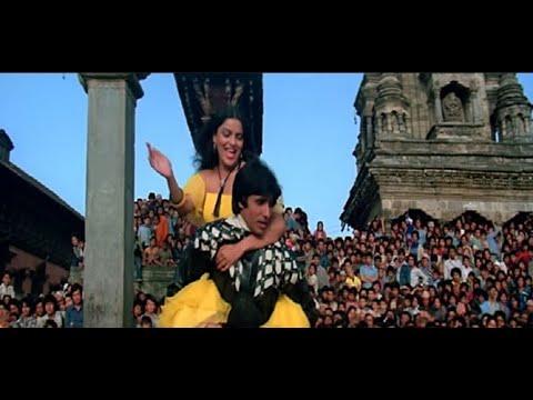 Amitabh Bachchan & Zeenat Aman Shooting in Kathmandu Nepal