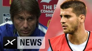 Morata, Rüdiger? Antonio Conte: Normal, dass sie noch brauchen | FC Arsenal - FC Chelsea 4:1 i.E.