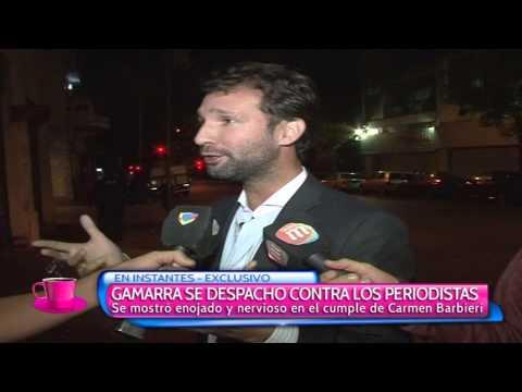El novio de Nazarena Vélez maltrató a periodistas