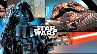 How Darth Vader FORCE CHOKED Jabba The Hutt (CANON) - Star Wars Explained