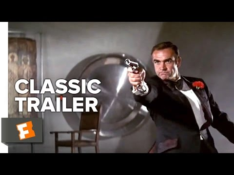 Diamonds Are Forever (1971) Official Trailer - Sean Connery James Bond Movie Hd video